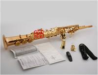 KaLouLin curve d'oro soprano Yanagisawa Sassofono W02 B dello strumento di musica professionale di trasporto