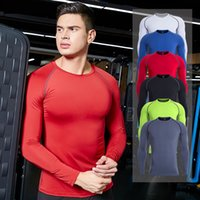 2019 new fitness clothes men' s training quick- drying T-...