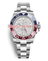 2019 ultima versione orologi da polso GMT Batman inossidabile 126710 40mm 126719 126719BLRO MOP 2813 orologi meccanici automatici da uomo con data