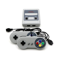 Coolbaby Süper Mini SFC Retro TV Video Klasik Oyun Konsolu El Oyuncu 620 Oyunları Çift Gamepad