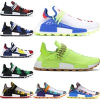 2020 billige NMD HUMAN RACE Pharrell Williams Herren Damen Mc Tie Dye Solar Pack Mutter Designer Mode Sportschuhe 36-47