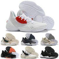 2019 Nerw Harden Vol.4 Chaussures De Basket-ball Pour Hommes LS PK Bred Noir Blanc Sneakers Sport chaussures de course chaussures de designer pour hommes