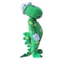 2019 heiße Verkauf neue orothy die Dinosaurier-Maskottchen-Kostüm-Karikatur-Klage-Abendkleid-Partei-Ausstattungs-Klage-freies Verschiffen