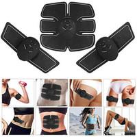 Stimolatore Abs Toner macchina elettrica addominale Massager del muscolo del toner SME muscolo macchine per il fitness Tonificazione Body Fitness attrezzature da palestra