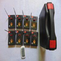 새로운 도착 원격 433MHz 수신기 8 개의 큐 불꽃 놀이 시스템 수신기 특수 효과 송신기 방수 컨트롤러 전자 와이어 구리 CE