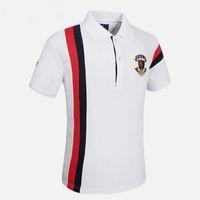 2019 Reserva aramy erkek Polo gömlek saklıdır camiseta masculina Kısa kollu pamuk slim fit erkek giyim / CF551