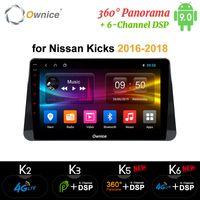 Ownice k3 k5 k6 Android 9 Auto-DVD-Spieler für Nissan Kicks 2016 2017 2018 Multimedia Auto Stereo GPS-Radio