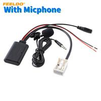 FEELDO автомобильный беспроводной модуль Bluetooth приемник стерео музыка AUX адаптер для BMW 3 серии (E90/E91/E92/E93) аудио AUX кабель #6288