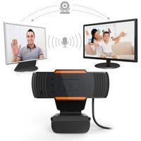 HD Webcam Digital Video Webcamera Built In Sound Absorption microfono USB 2.0 fotocamera Streaming Web Cam per il computer portatile desktop computer Gaming