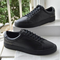 Common Projects by women Black white low top Shoes Men Women...