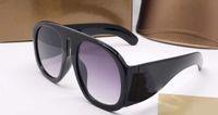 디자이너 럭셔리 남성 및 여성 브랜드 선글라스 패션 타원형 일 상자 케이스와 UV 보호 렌즈 코팅 프레임없는 도금 프레임 안경