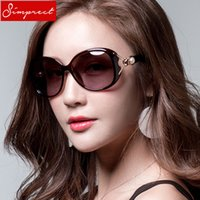 SIMPRECT Oversized Sunglasses Women Polarized Retro Big Squa...