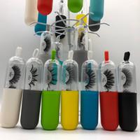 Nouveau Réel 3D vison cils vison cils faux cils 100% sans cruauté Doux Naturel court Épais Faux Cils Cils Extension maquillage