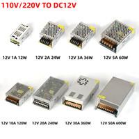Выключатель питания источника переключения AC100-240V к DC12V 3A 5A 8.5A 10A 12A 15A 20A 30A LED освещение Transformersfor водить прокладки LED трансформатор