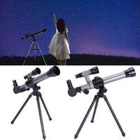 Telescópios de astronômicos monoculares ao ar livre com tripé portátil brinquedo crianças telescópio astronômico para crianças monóculos
