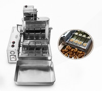 2000W Ticari Donut Makineleri 4 Satır Donut Elektrikli Kızartma Mini Donut Otomatik Üretim Donut Makinesi 6L LLFA Yapımı