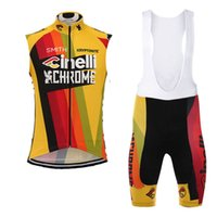 2019 Men CINELLI Team Cycling Jersey Suit Summer Breathable ...
