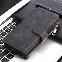 NEW High Quality Luxury Vintage Flip PU Leather Case Wallet ...