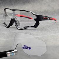 Photochromic Ciclismo óculos discolorationLenses ciclismo óculos oculos montanha de bicicleta Sun Glasses Óculos ciclismo 1Lens com caso