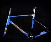 Bisiklet Çerçeveleri 2021 Thrust T800 Karbon Yol Çerçevesi Bisiklet Bisiklet Frameset Süper Işık 980g DI2 / Mekanik Yarış