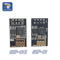 Freeshipping 10st / Lot D Version (1m Flash) ESP8266 Seriell WiFi Trådlös modul Trådlös transceiver ESP-01 ESP-01S