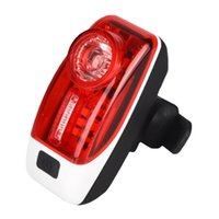 Luzes de bicicleta Taillight à prova d'água à prova d'água Luz traseira LED USB Chargeable Farol de montanha Ciclismo Bicicleta de lâmpada de cauda