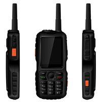 Original A18 IP67 3800mAh U Teléfono resistente al agua Android GPS Zello PTT 3G Intercomunicador de red GSM Viejo anciano Teléfono móvil mini F22 F25