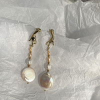 Vintage Baroque Royal and Palace Style Long Irregular Pearl ...