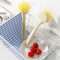 Wholesale new kitchen long handle cleaning brush can be hung...