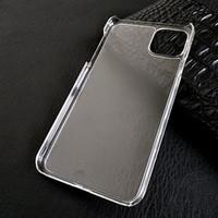 Ultra Ince Ince Temizle Şeffaf Plastik Sert PC Kılıfı Kristal Kabuk Kapak iphone 12 Mini 11 Pro Max XS XR X 8 7 6 6 S Artı SE 2020 Darbeye Koruyucu