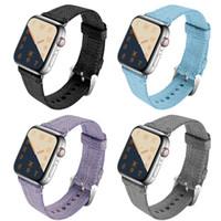 f6f40162265 Compre Novo Tecido De Nylon Esporte Loop Band Para Apple Watch Série ...