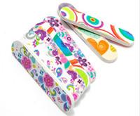 2000pcs Профессиональные декоративные пилочки 6 * 1.5CM Буфер Полировка девчушка мини Пилочка X217