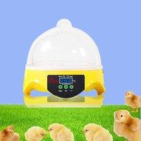 Mini Intelligent inkubator Hem 7 Elektronisk Digital Displayte Temperaturreglage Inkubator Kyckling Duckduvor Kläckningsbox Specialerbjudanden