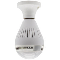 Luces LED 960P del bulbo de 360 grados de la cámara IP inalámbrica de WIFI para la seguridad en el hogar