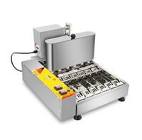Пищевая обработка Electric 4-ряд мини-пончик Maker автоматическая машина пончик