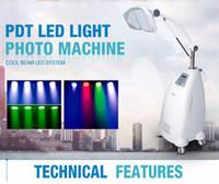 전문 새로운 7color의 PDT 피부 회춘 LED 광선 치료 광자 페이셜 케어 여드름 치료 피부 뷰티 살롱 사용 악기를 조