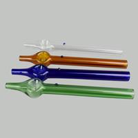 collecteur de nectar Mini 6inches mini verre dégustateur nectar de paille de nectar fumer accessoires mélanger les couleurs Livraison gratuite