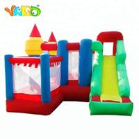 Quintal Backyard Tobogan Bounce Casa Inflável Bouncy Use Bouncy Castle Slide Combo Com Bolas de PE
