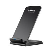 Tüm Q740 Akıllı Telefonlar 2 Bobinler Kablosuz Şarj Hızlı Q740 Kablosuz Şarj Standı Pad iphone X 8 8 Artı Samsung Not 8 S8 S7