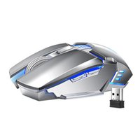 New Wireless Gaming Mice Mute Mouse for Gamer PC Computer Mi...