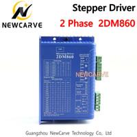 2DM860 Stepper Motor Driver 2 Fase 30-80V 2.1-8.4A Para CNC Router NEWCARVE