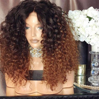 1B 27 Ombre Human Hair Wig With Baby Hair Pre Plucked Brazil...
