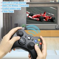 For Xbox 360 2. 4G Wireless Remote Controller Computer With P...
