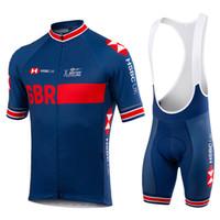투어 드 프랑스 2021 프로 팀 GB 사이클링 저지 세트 남성 / 여성 여름 통기성 짧은 소매 사이클링 의류 Bib 반바지 키트 Ropa Ciclismo