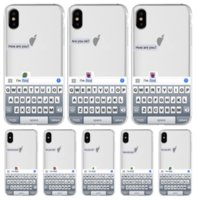 luxury clear keyboard mirror case for iphone 11 X XR case si...