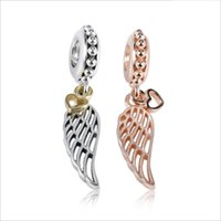 2020 New Authentic 925 Sterling Silver Openwork Angle Wing D...