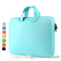 Великобритания Мода новый холст водонепроницаемый, устойчивый к царапинам Laptop сумки на ремне 11 12 13 15inch ноутбук плеча чехол для Anti-падения сумки
