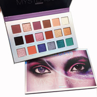 Make-up Schönheit Verglaste Mysterious Lidschatten-Palette Mercury retrograde 18 Farben Lidschatten-Palette ultra Schimmer Matt Nude Lidschatten DHL