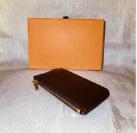 PORTACHIAVI Damier pelle detiene alta qualità famosi designer classici donne portachiavi portamonete piccola pelle Desig Portafoglio NO BOX 62650