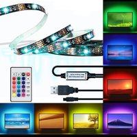 BRELONG LED TV backlight, 6. 56FT RGB flexible USB offset ill...
